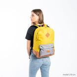 New Rebels® - Creek - Rugzak - Rugtas - 16L - Nylon - Oker Antraciet