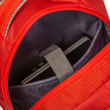 New Rebels®  - Kinley - Rugtas - Schooltas - Vrijetijdstas - 48 Liter - Nylon - Rood