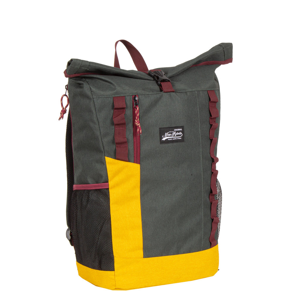 New Rebels®  -  Andes - Roll-Top 32 liter -  dark green