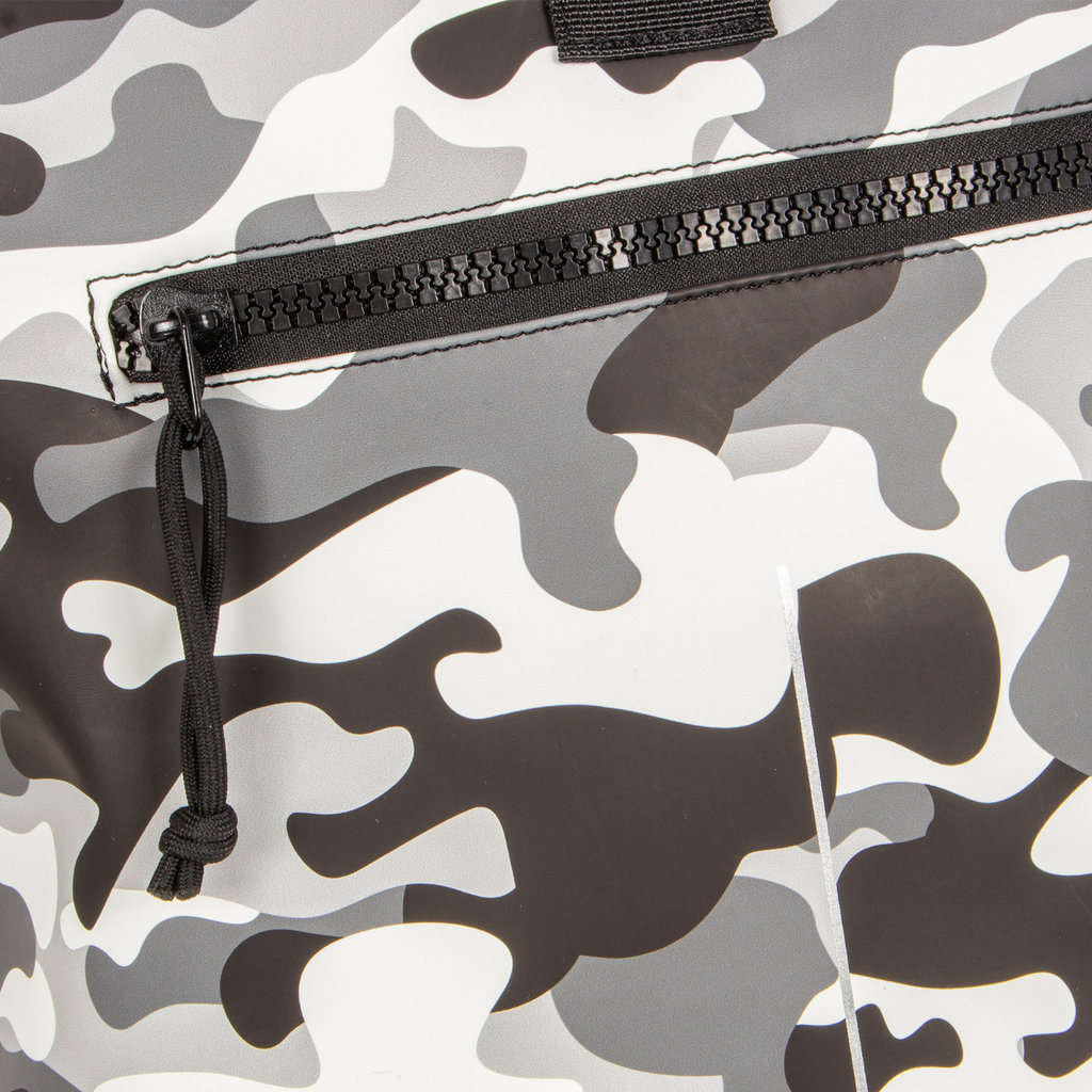 New-Rebels® Mart Roll-Top PU Backpack Camouflage - Army Large II