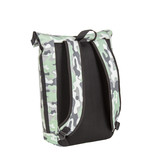 Mart Roll-Top  PU Backpack Camouflage Mint Large II  - Army