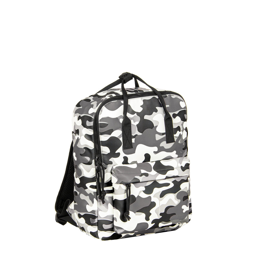 New-Rebels® Mart - Backpack - Army Camouflage Grey IV - 28x16x39cm - Backpack
