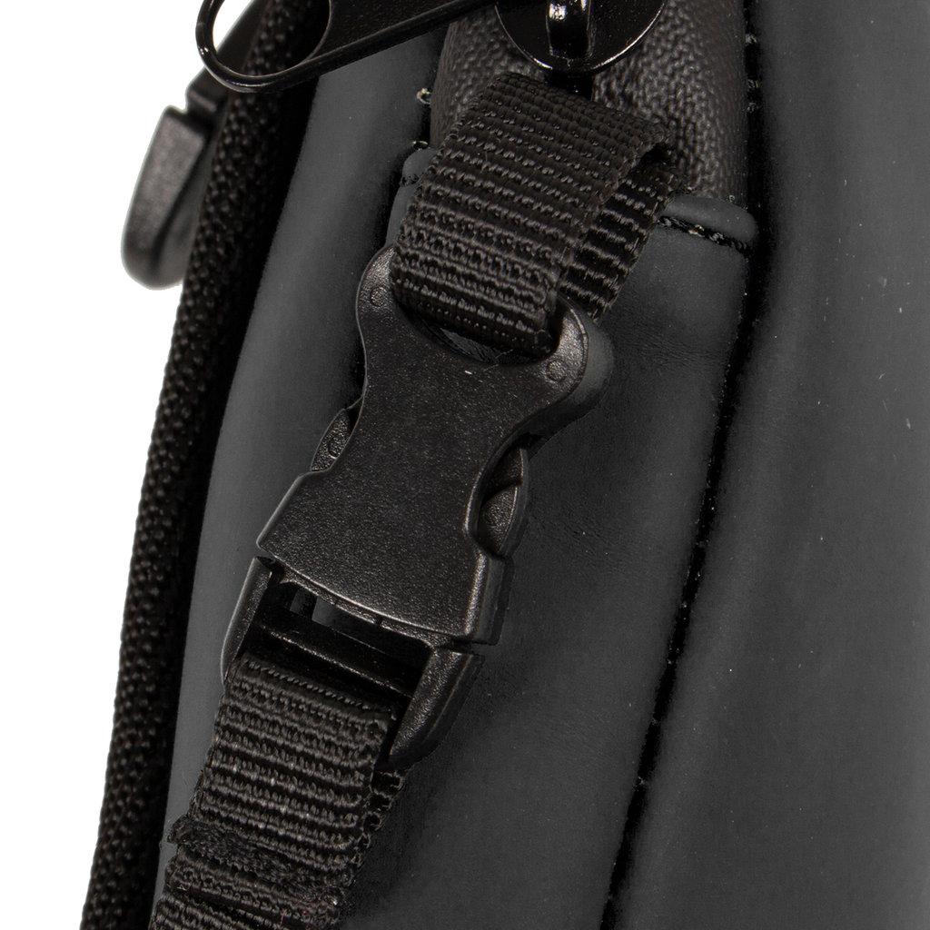 New-Rebels ® Mart - Water Repellent - Phone Pocket - 10x2x17cm - Black
