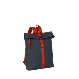 New-Rebels® Tim Roll-Top Backpack Small Anthracite/Red