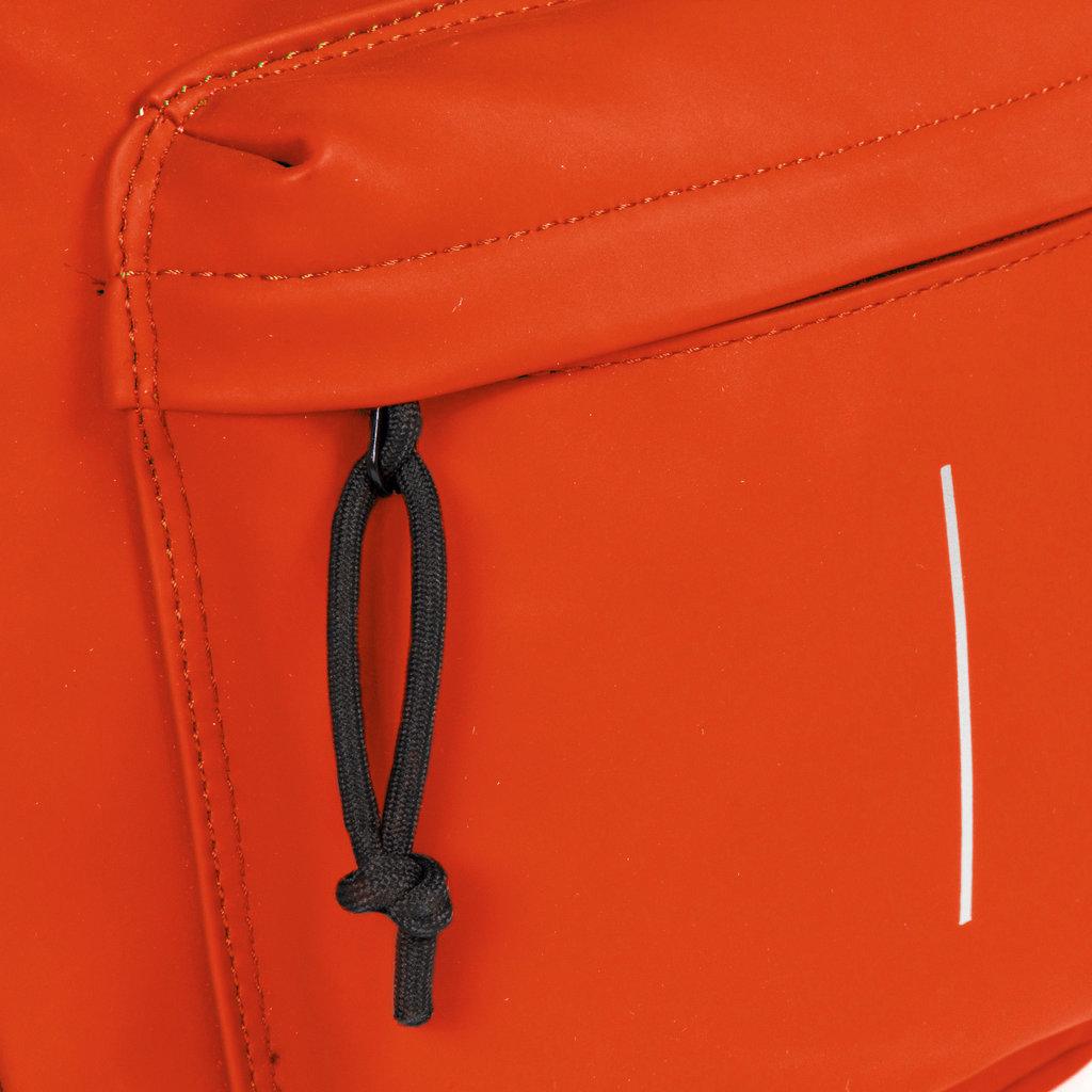 Mart PU Backpack Orange IV