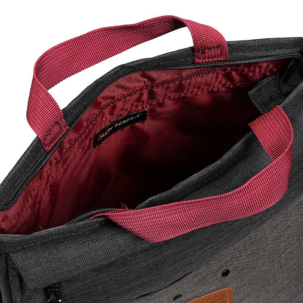 Wodz Backpack Black/Grey I | Rugtas | Rugzak