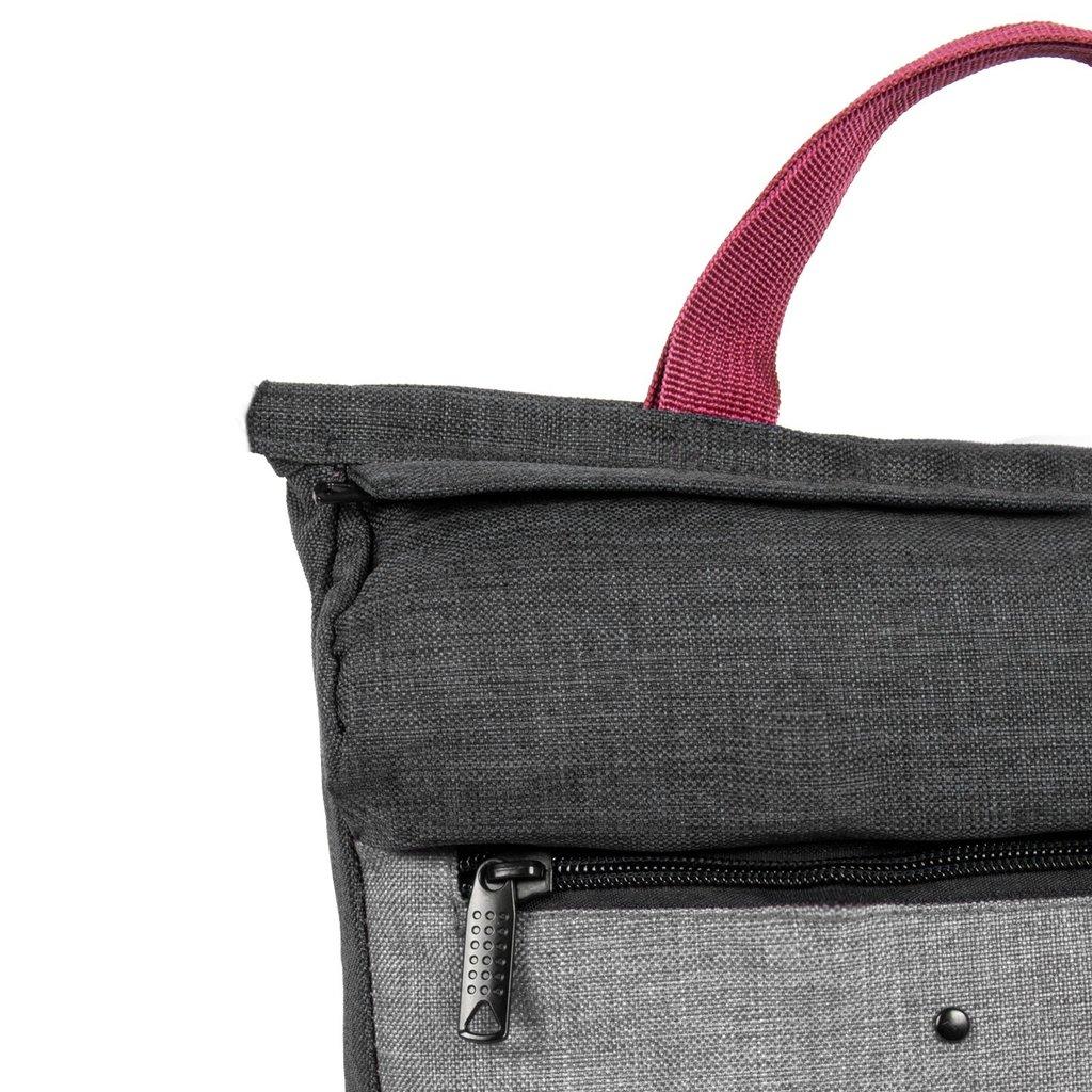 Wodz Backpack Black/Grey I | Rucksack