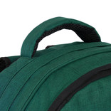 New-Rebels® Heaven - School - Backpack - 31x15x41cm - Dark Green