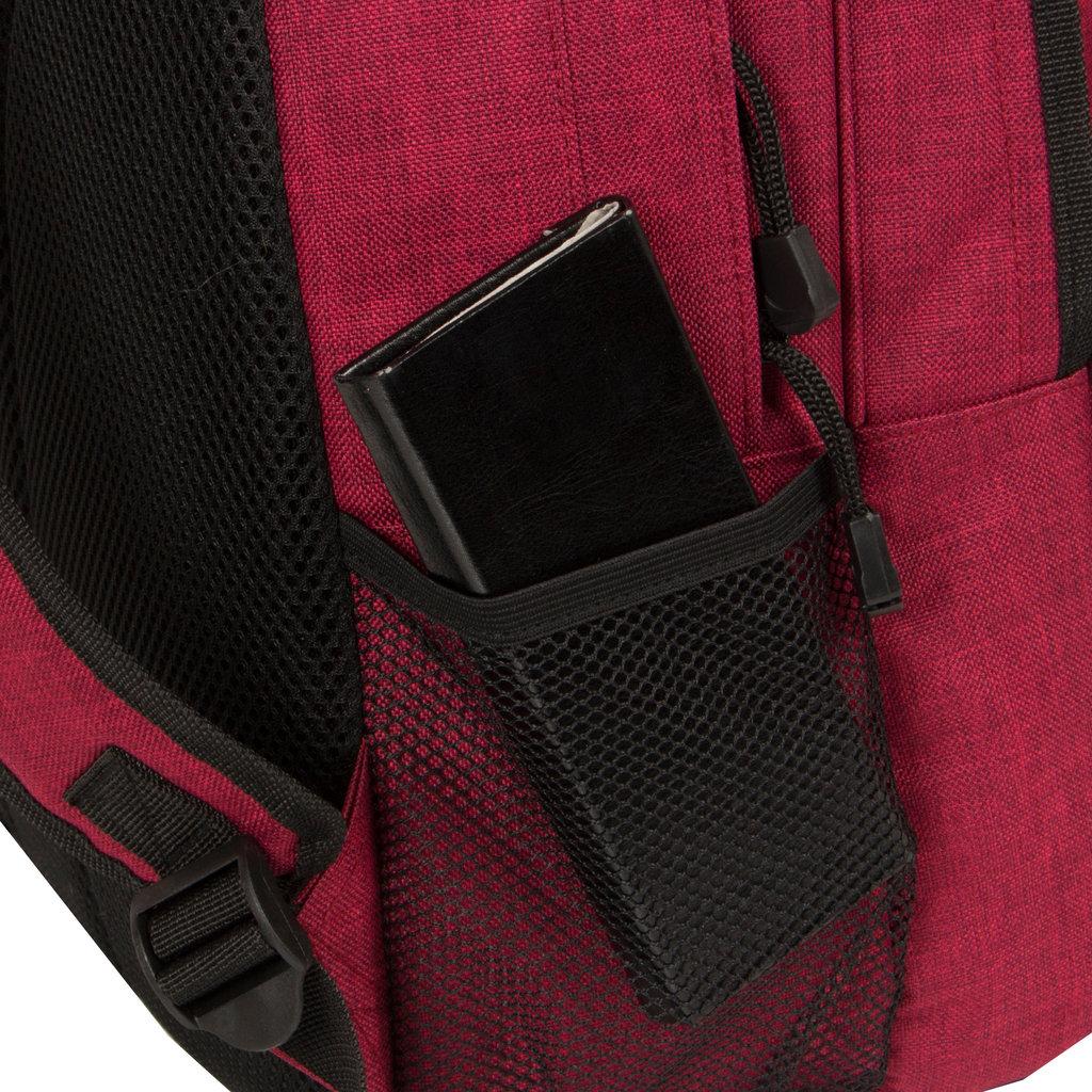 New-Rebels® Heaven - School - Backpack - 31x15x41cm - Burgundy