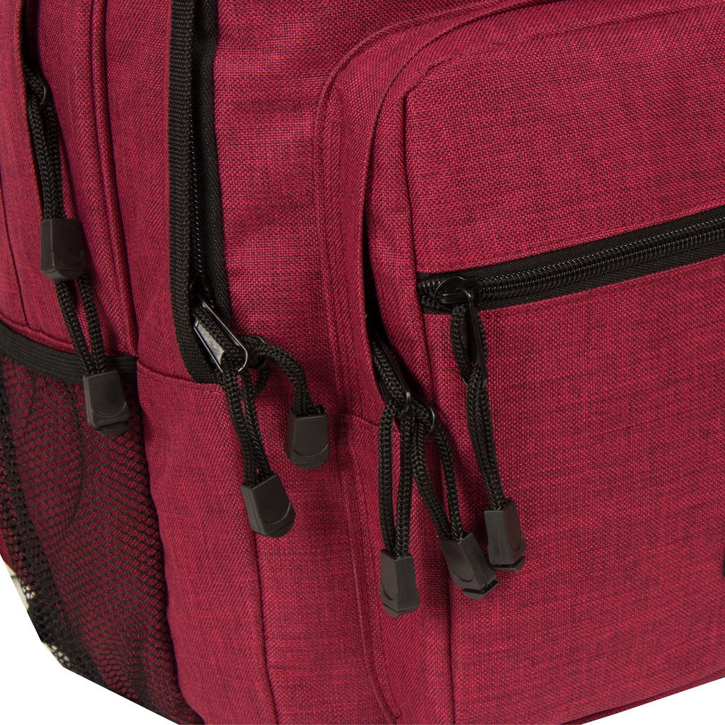 Heaven school backpack burgundy