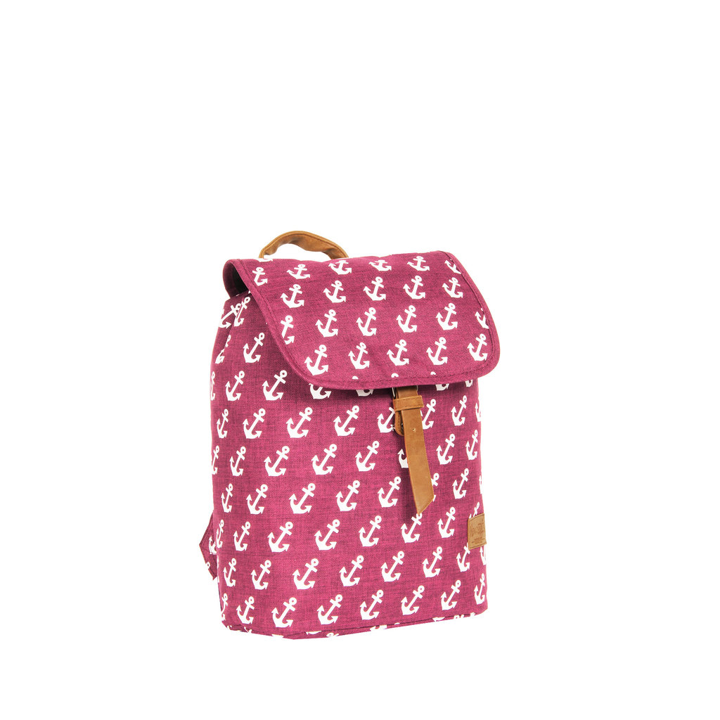 Sealife small flap backpack Soft pink
