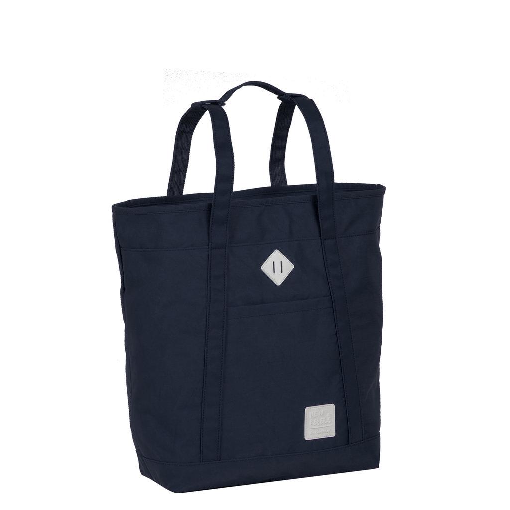 Mark Gent High Shopper Backpack Navy
