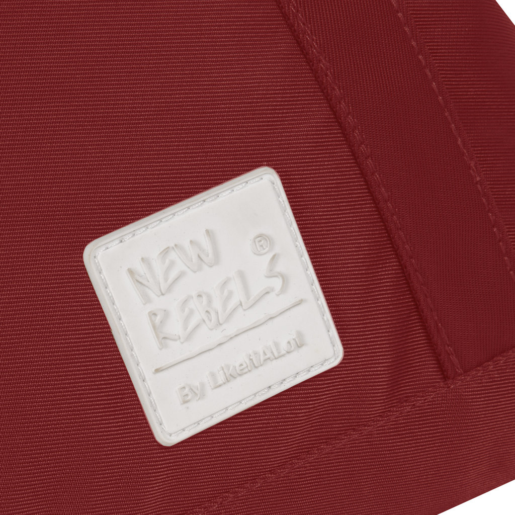 Mark Gent high shopper backpack burgundy