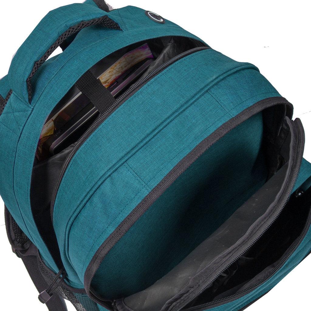Heaven school backpack new blue