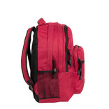 Katschberg school backpack burgundy