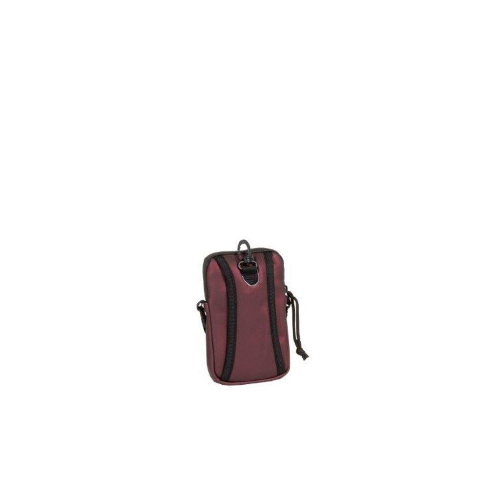 New-Rebels ® Mart - Waterafstotend - Telefoontas  - Metallic burgundy