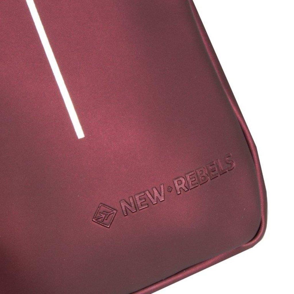 Mart Phone Pocket Metallic burgundy  I | Telefontasche