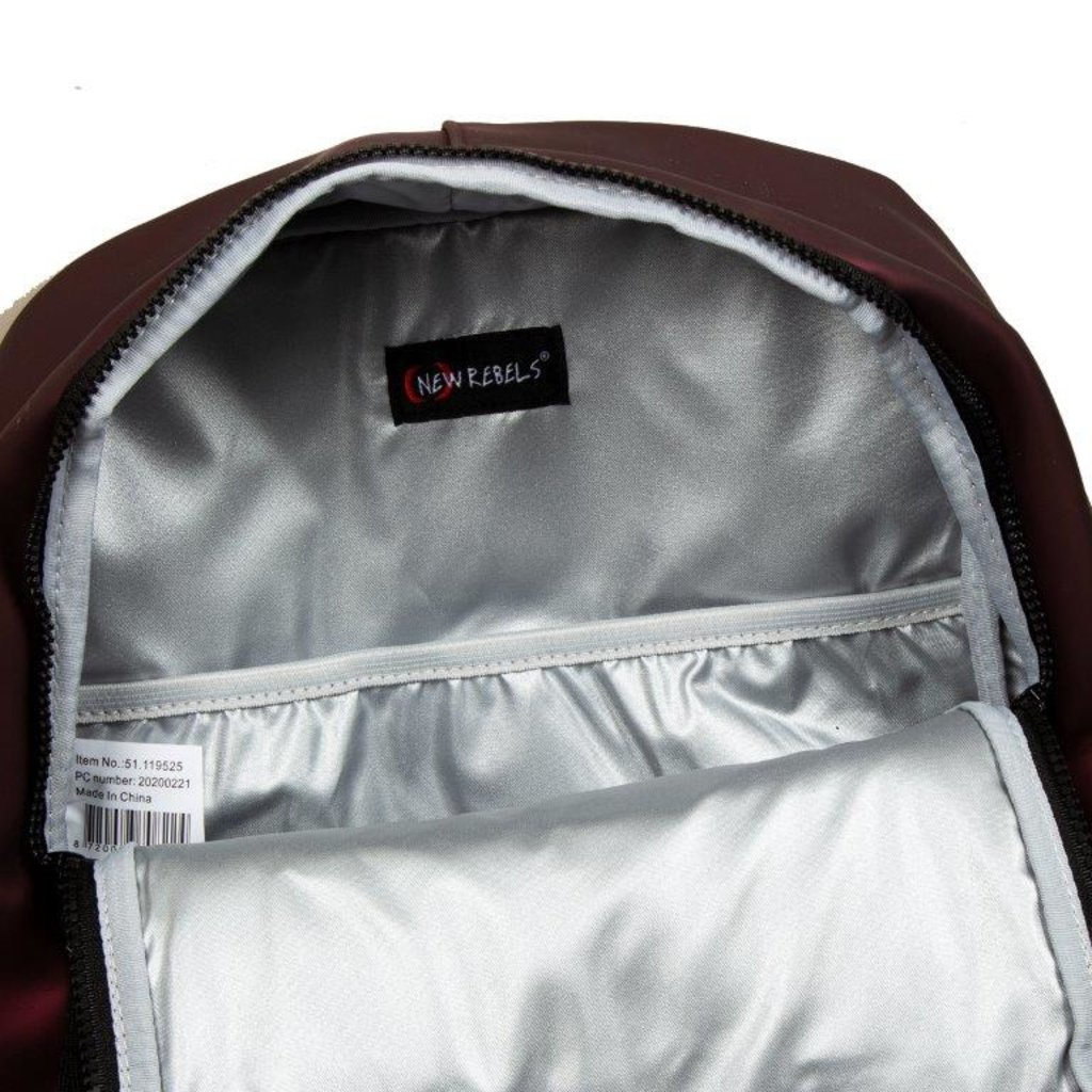 Mart Backpack Metallic burgundyIV | Rucksack