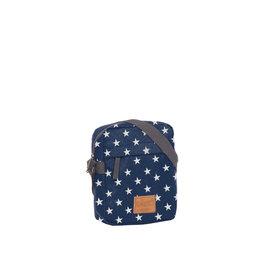 Star range navy top zip with stars