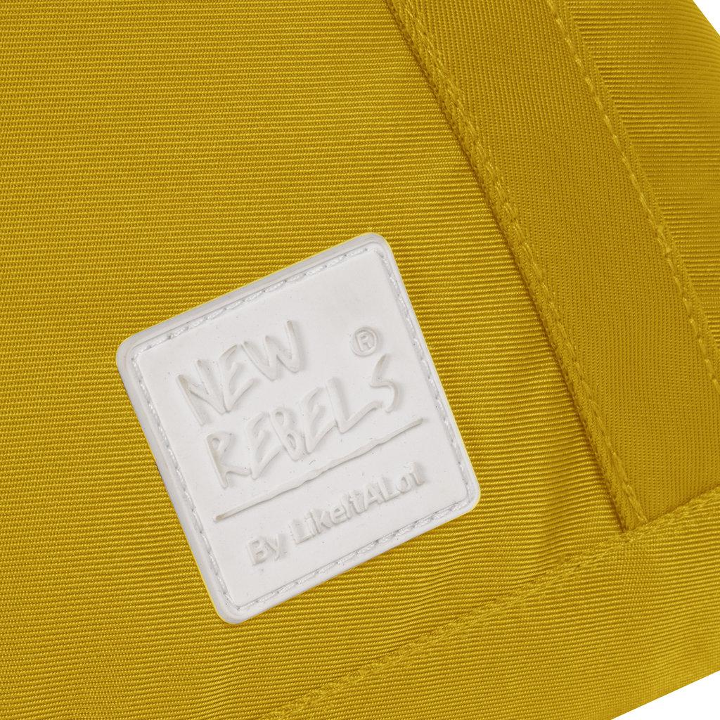 New-Rebels® Mark Gent High - Shopper - Rugtas - Oker