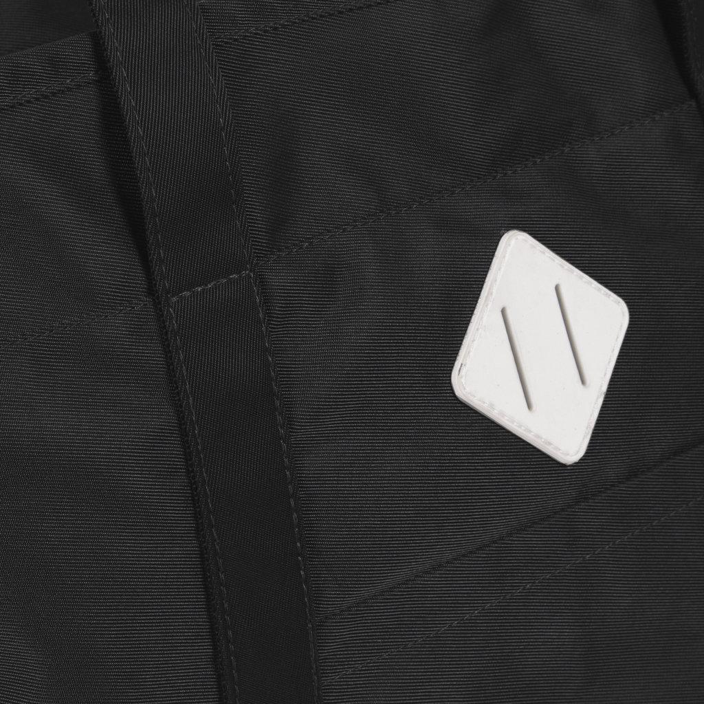 New-Rebels® Mark Gent High - Shopper - Rugtas - Zwart