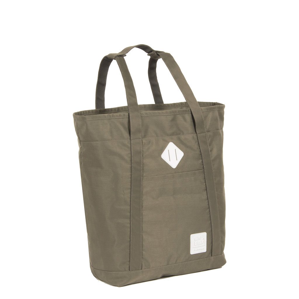 Mark Gent High Shopper Backpack Taupe