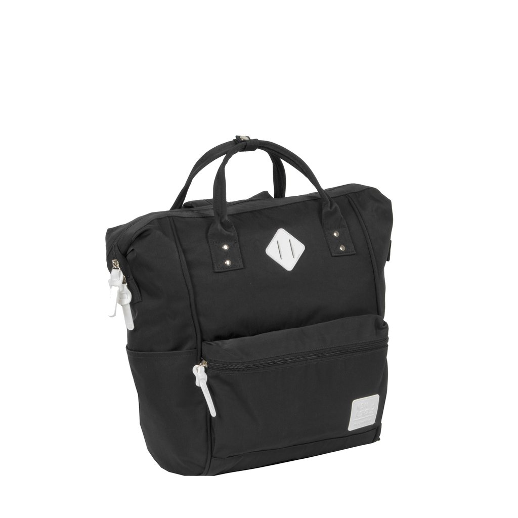 Mark Gent Classic Shopper Backpack Black