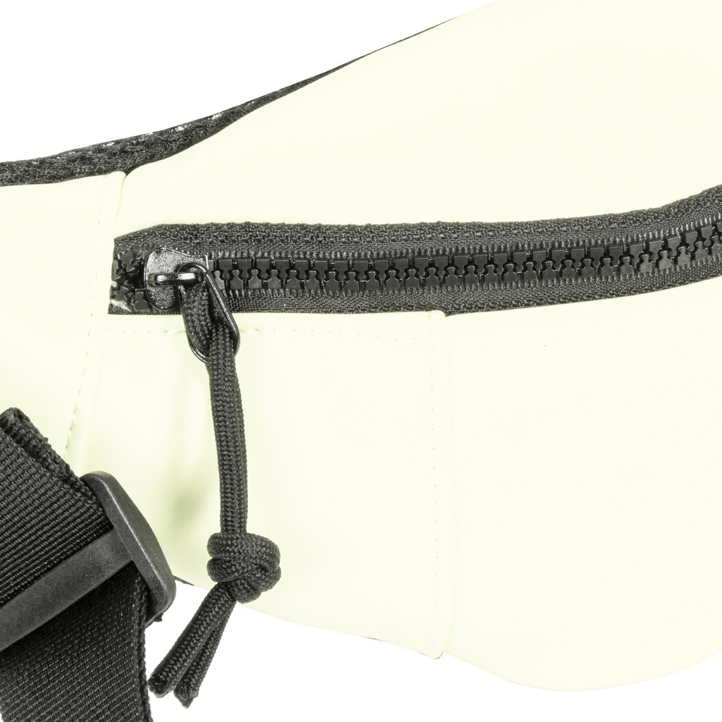 New Rebels®  - Mart - Water Repellent -  Waistbag - 22x8x12cm - White