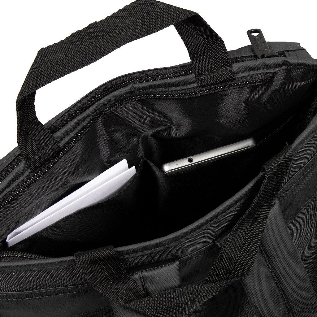 New Rebels Waxed Backpack | Rugtas Black