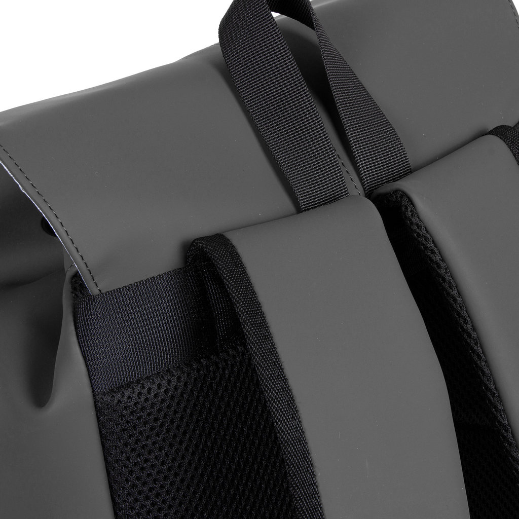 Mart PU Laptop Backpack Anthracite