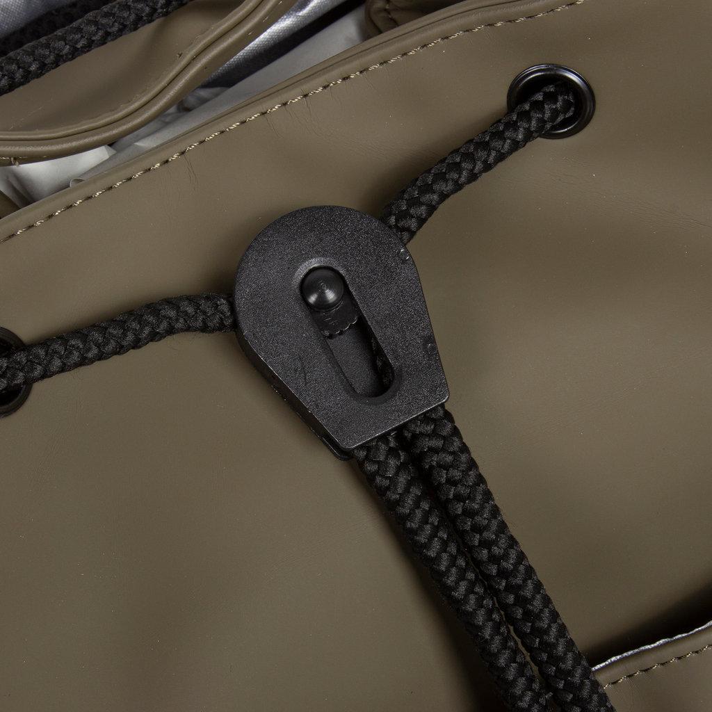 New-Rebels ® Mart PU Laptop Backpack Olive
