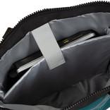 New Rebels® Mart - Waterafstotend -  Rugtas - Laptoptas 13,3 Inch. - Shopper - Petrol