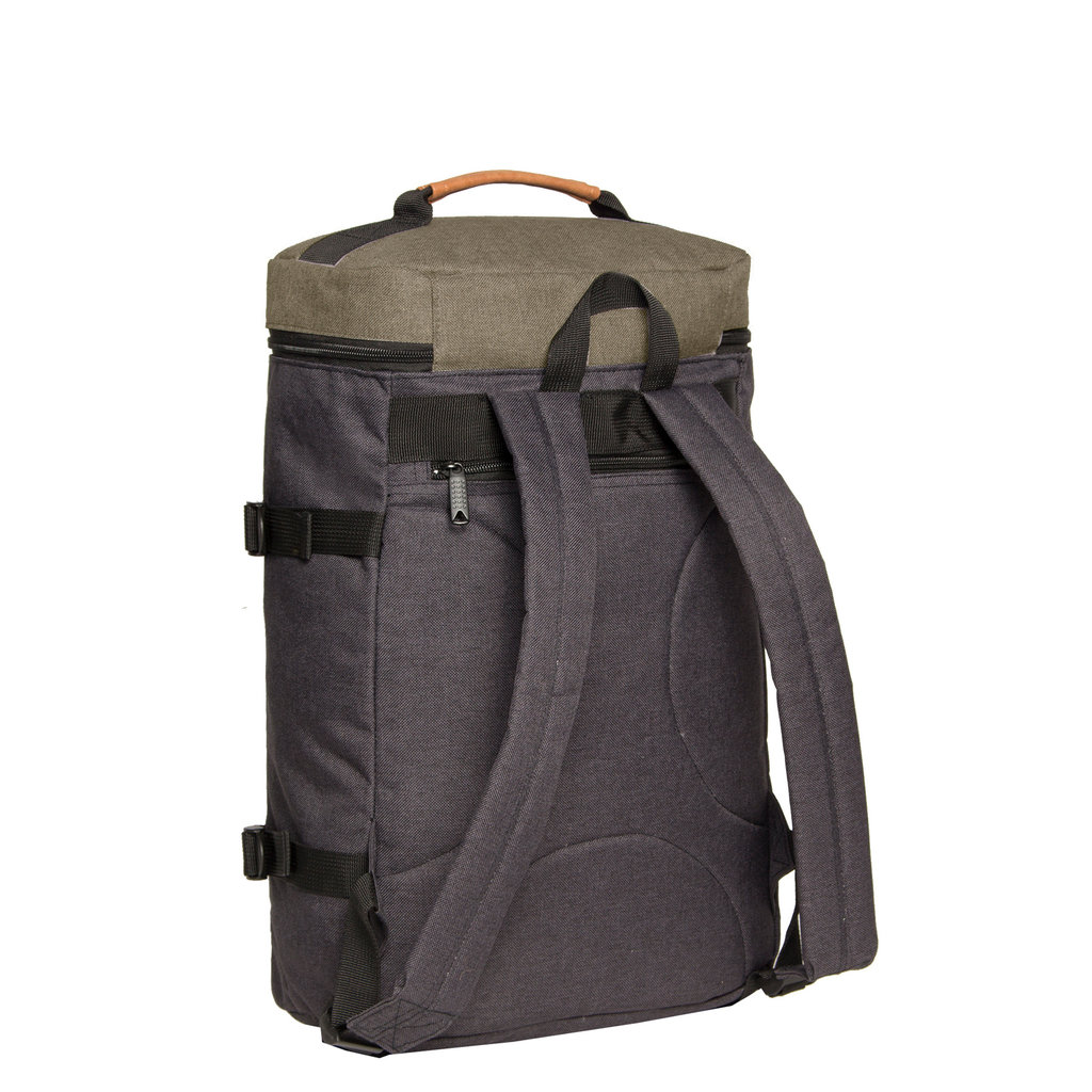 Karl backpack box laptop comp black