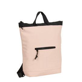 New Rebels® Mart - Waterafstotend -  Rugtas - Laptoptas 13,3 Inch. - Shopper - Soft Roze