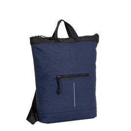 Mart navy shopper backpack