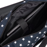 New Rebels Star range A4 shadow blue with stars