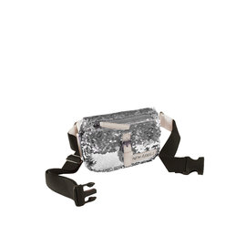 New Rebels Sequin Waistbag soft zilver | Heuptasje