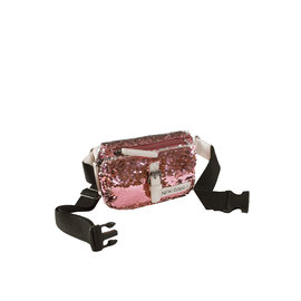 New Rebels Sequin Waistbag soft Pink | Bauchtasche