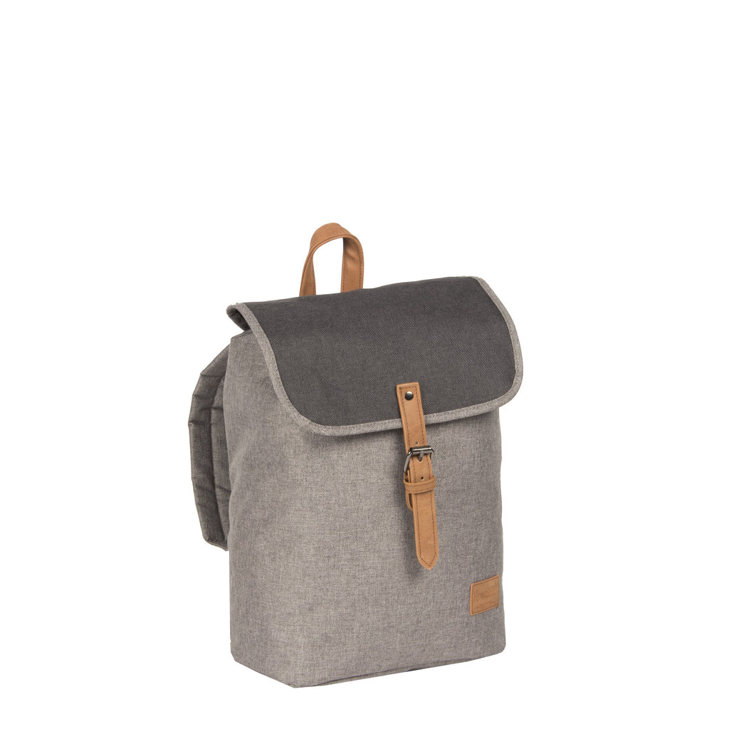 Creek Small Flap Backpack Anthracite IV | Rugtas | Rugzak