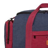 Wodz Sports Bag Navy/Burgundy Small IV | Reisetasche | Sporttasche