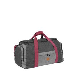 Wodz Sports Bag Anthracite/Grey Small IV | Weekendtas | Sporttas
