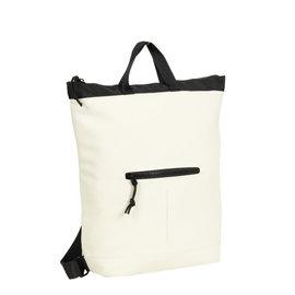 Mart white shopper backpack