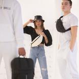 New Rebels Mart Waist Bag Bourgundy