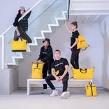 Mart Roll-Top Backpack Yellow Small II | Rucksack