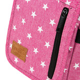 New Rebels Star range small flap soft pink with stars