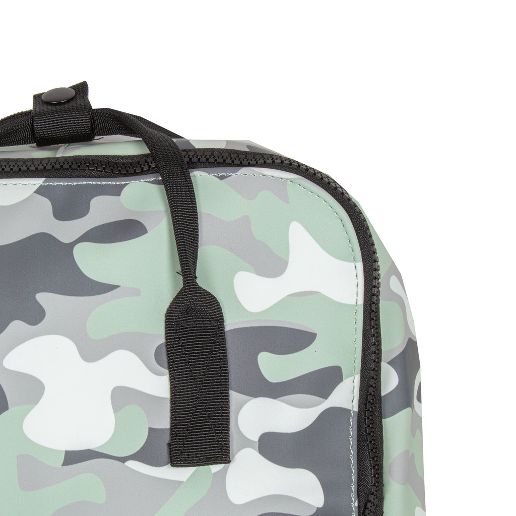 New-Rebels® Mart Backpack Waterafstotend  Mint Camouflage  II | Rugtas | Rugzak - Army
