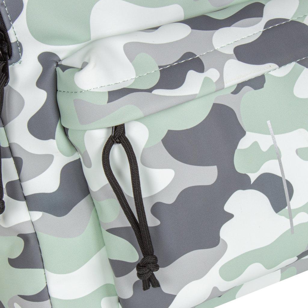 Mart PU Rugtas Mint Camouflage