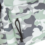 New-Rebels® Mart - Backpack - Army Camouflage Mint IV - 28x16x39cm - Backpack