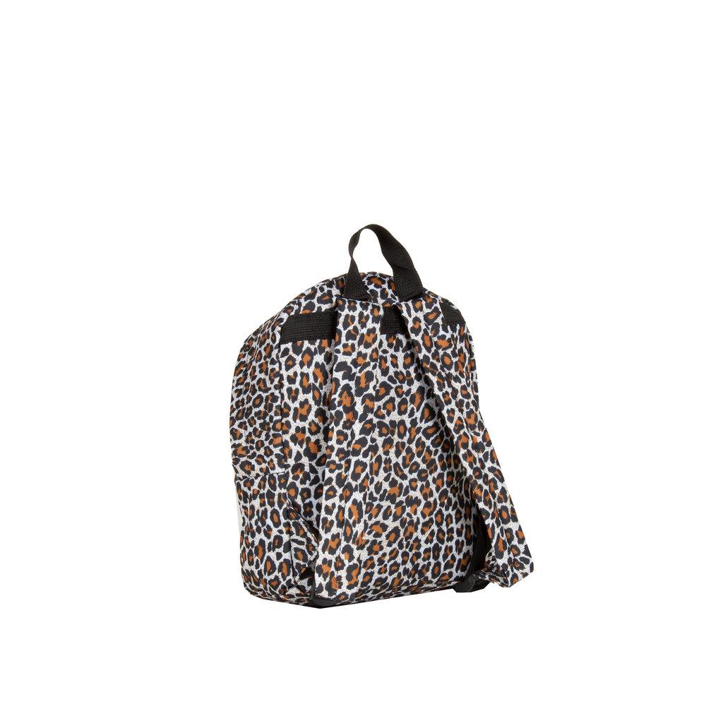 New Rebels ®  Leopard - Backpack - Basic Small - Leopard Print - 22x10x30cm - Brown