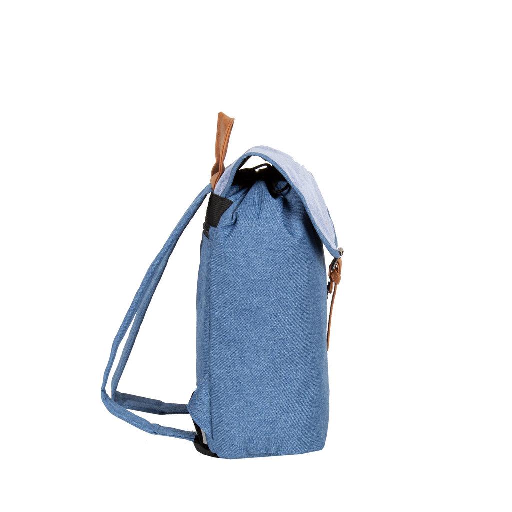 Creek Small Flap Backpack Soft Blue IV   Rugtas   Rugzak